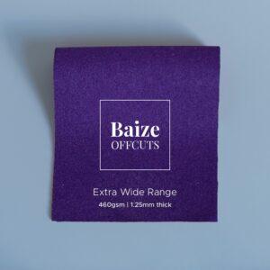 Baize Offcuts – Purple