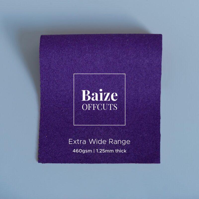 baize offcuts remnants purple