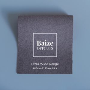 Baize Offcuts – Smoke Grey
