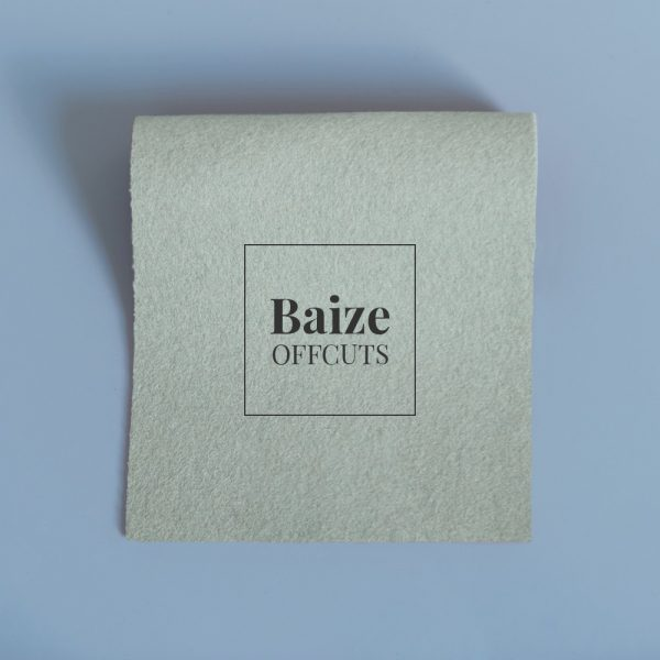 baize offcuts remnants green clay