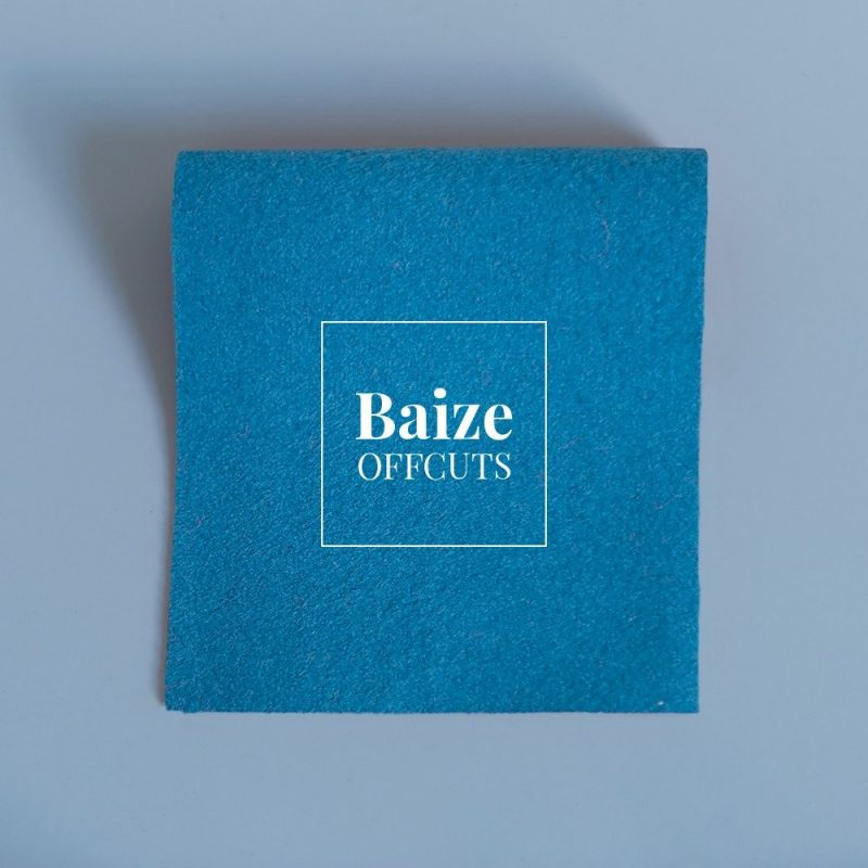 baize offcuts remnants night time blue