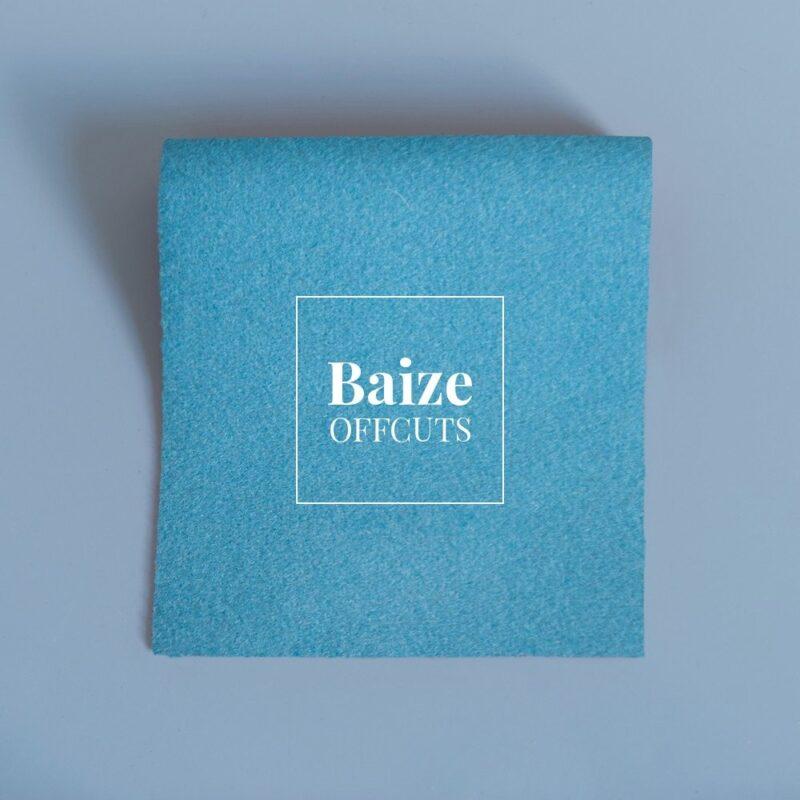 baize offcuts remnants persian gulf blue