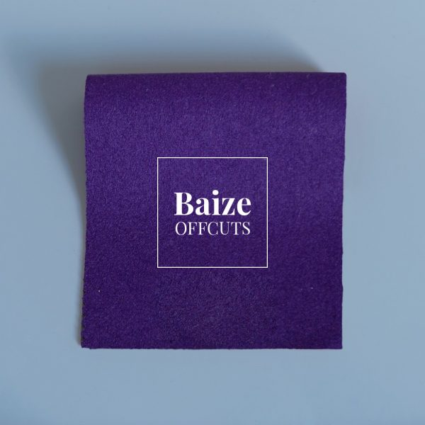 baize offcuts remnants purple