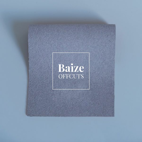 baize offcuts remnants smoke grey