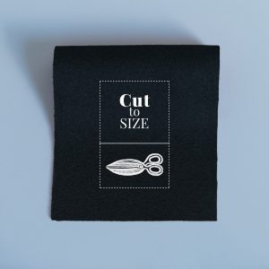 Cloth Cut to Size – Black Merino Wool Baize