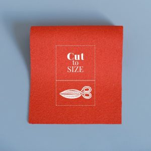 Cloth Cut to Size – Bright Scarlet Merino Wool Baize