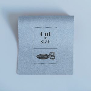 Cloth Cut to Size – Dove Grey Merino Wool Baize