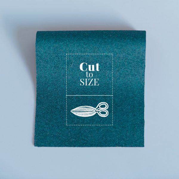 cloth cut to size hunter green merino wool baize