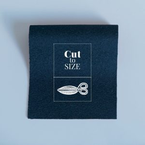 Cloth Cut to Size – Indigo Merino Wool Baize