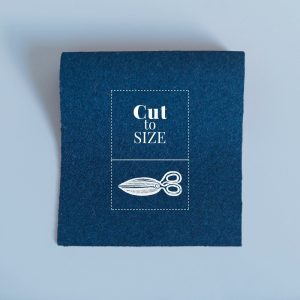Cloth Cut to Size – Navy Merino Wool Baize