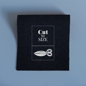 Fabric Cut to Size – Black Standard Baize