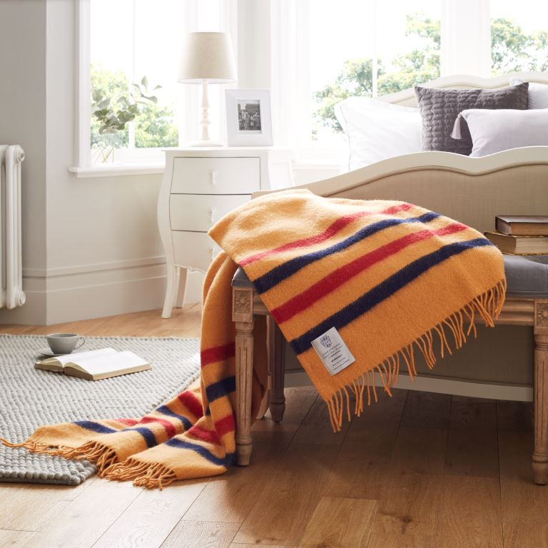 John Atkinson Heritage Newmarket Wool Sofa and Bed Throw