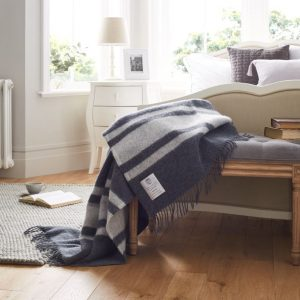 John Atkinson Heritage Winston Luxury Bed Throw