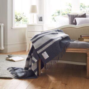 John Atkinson Heritage Winston Luxury Bed Throw