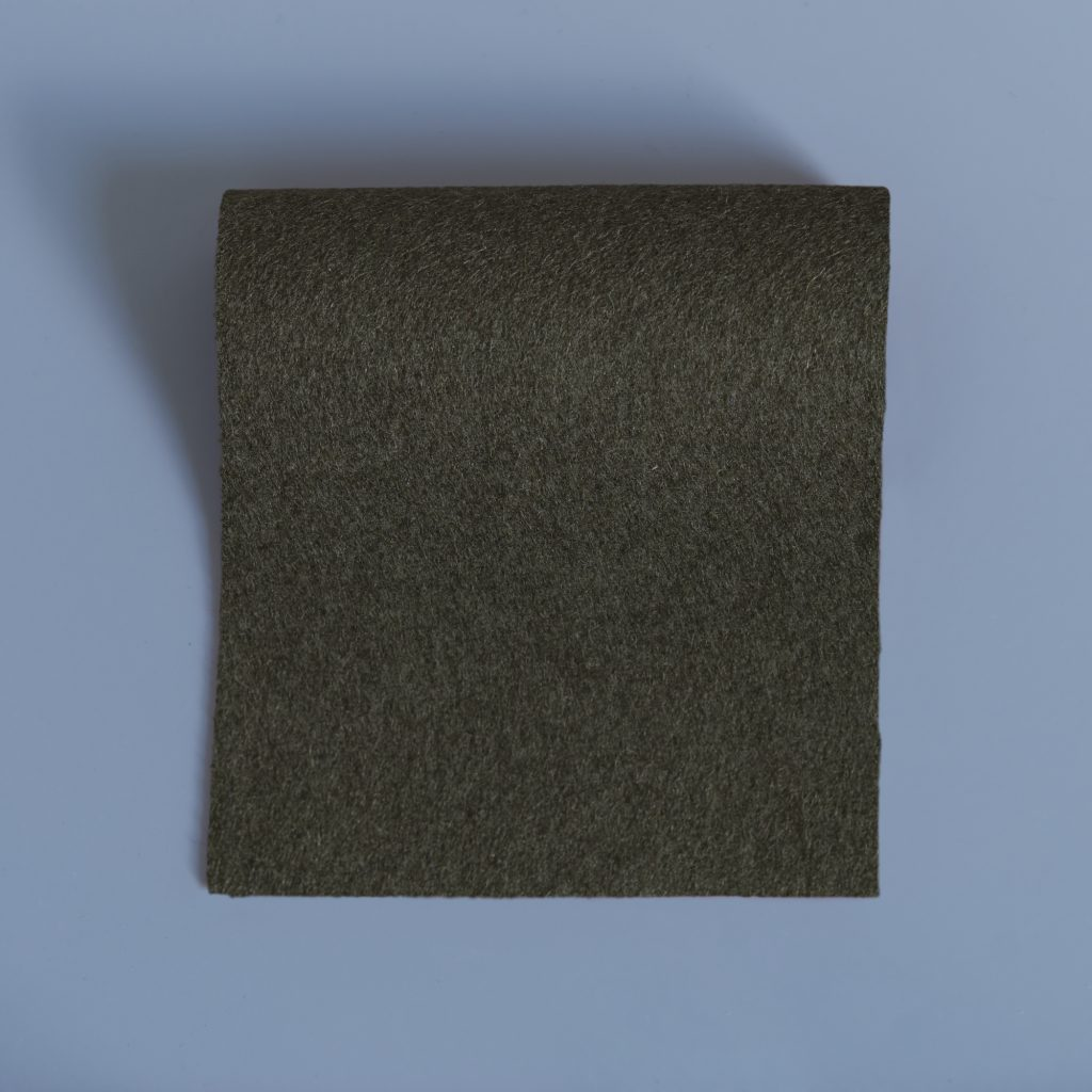 extra wide broadcloth kale green flat