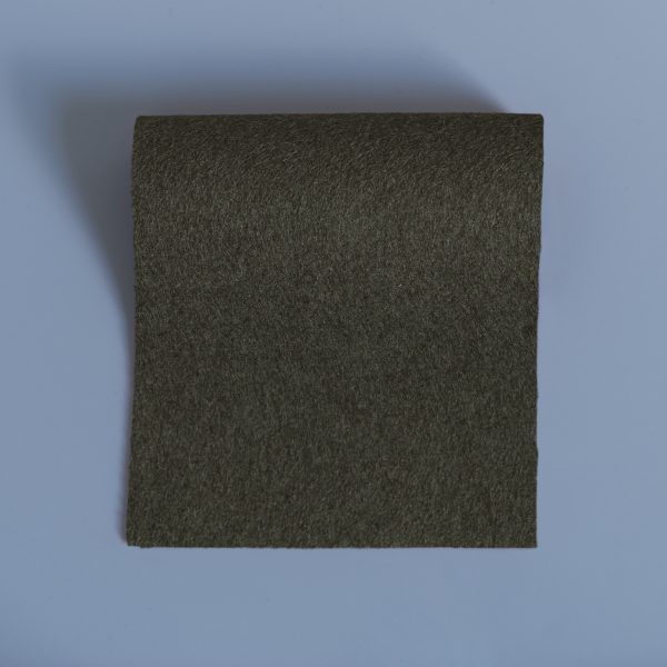 extra wide broadcloth dark olive green flat
