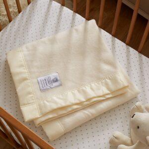 John Atkinson 100% Merino Wool Baby Blanket