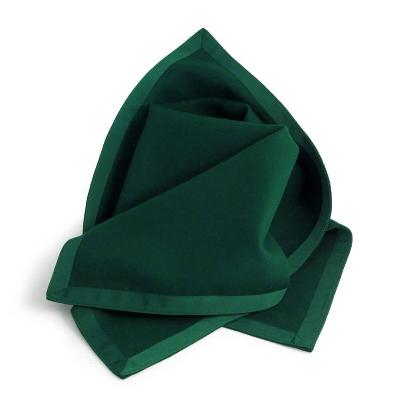 Green Made to Measure Baize Tablecloth Chatsworth Range