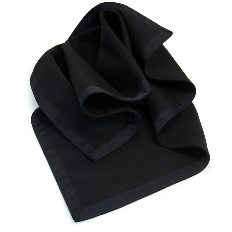 Black Made to Measure Tablecloth Chatsworth Range