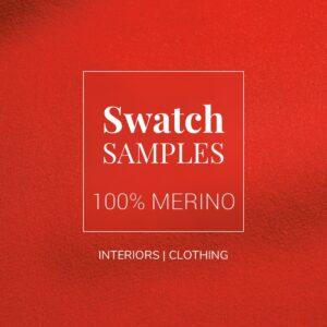 Sample Swatch 100% Merino Wool Baize