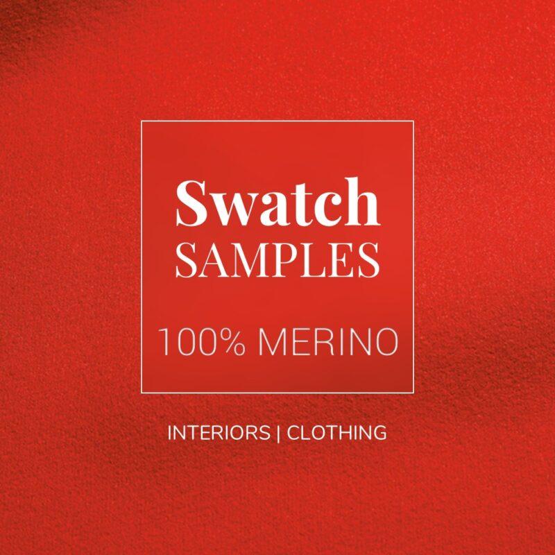 100 Percent Merino Baize Fabric Swatch Samples