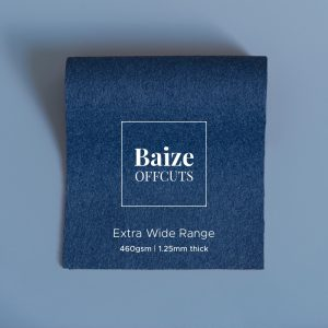 Baize Offcuts – Blue Grey