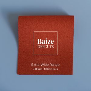 Baize Offcuts – Burnt Orange