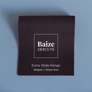 Baize Offcuts – Dark Brown