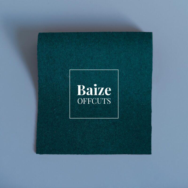 baize offcuts remnants hunter green