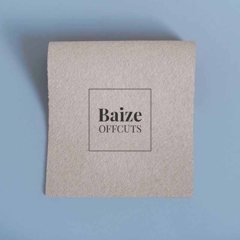 baize offcuts remnants sand