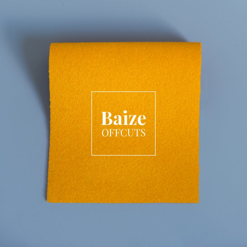 baize offcuts remnants pollen yellow