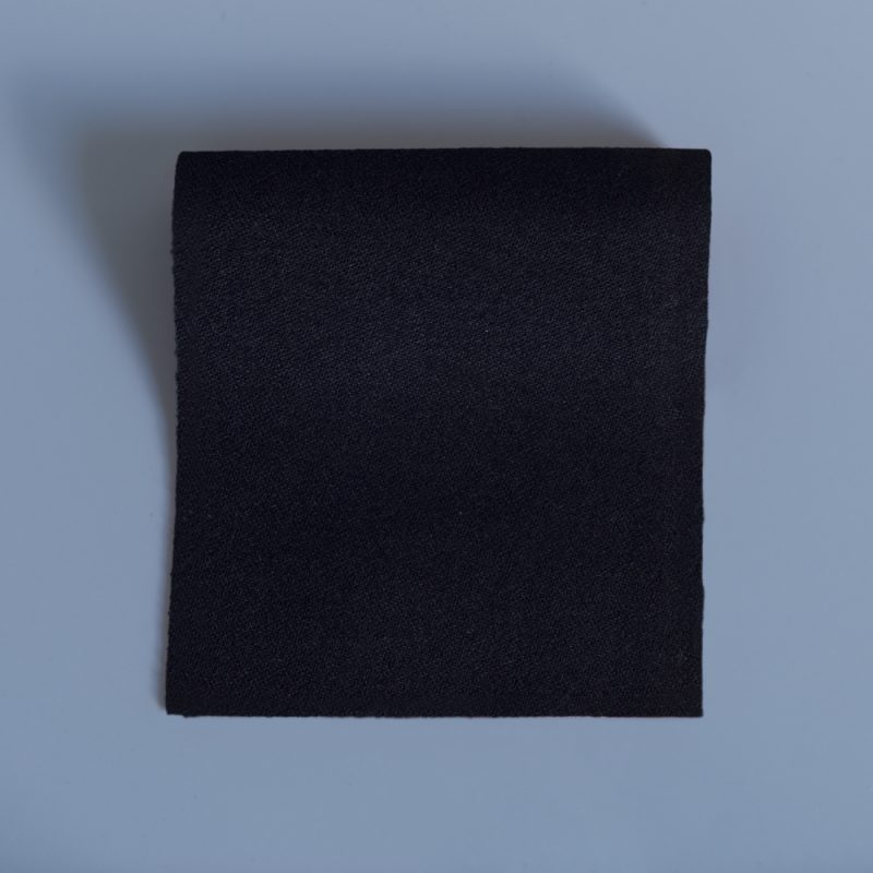 Barathea Black Dress Swatch