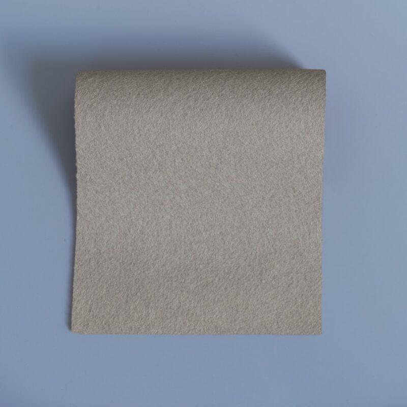 Merino Wool Baize Gull Grey Swatch