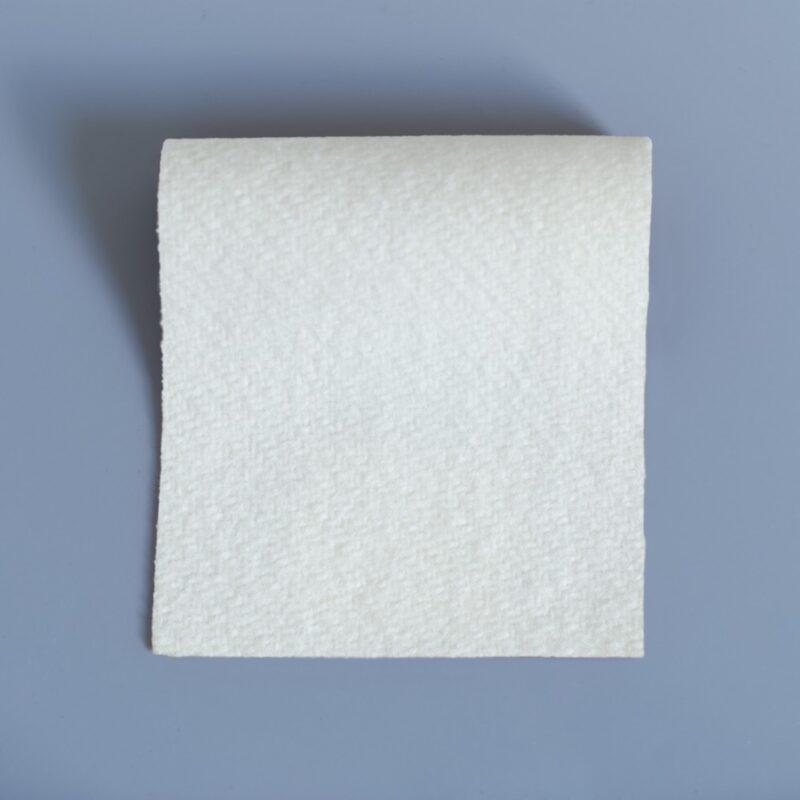 White Duffle Fabric - soft warm and hardwearing