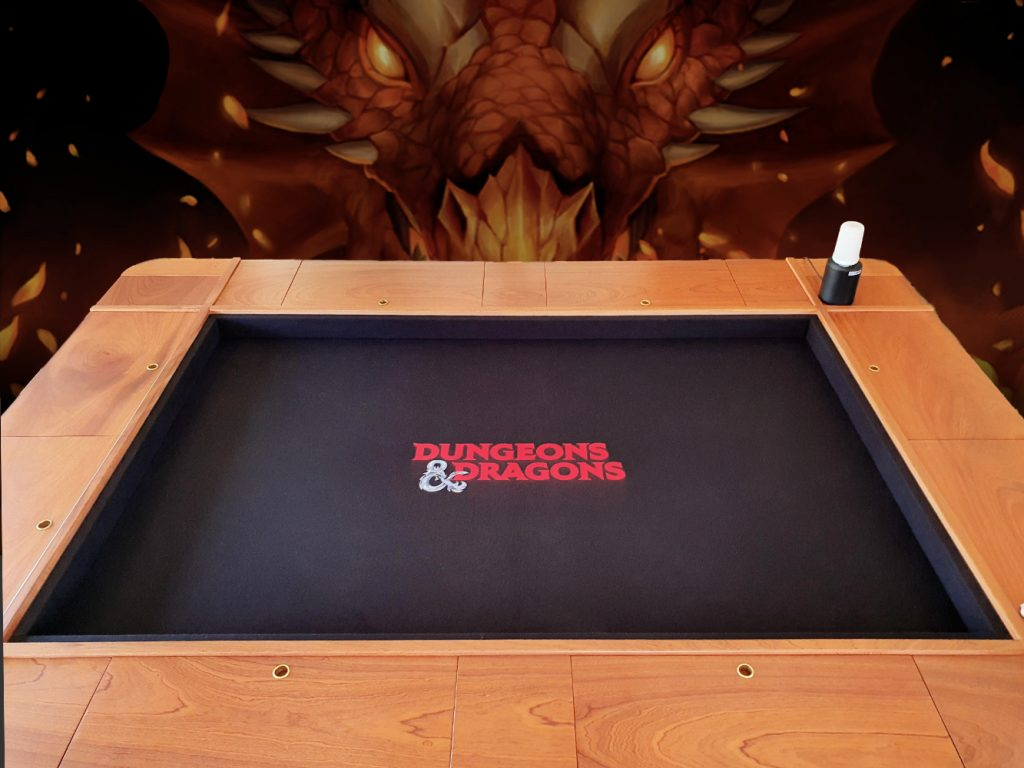 Dungeons & Dragons printed cloth games table top