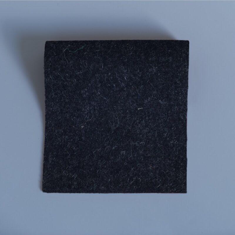 Lightweight melton marble melange charcoal