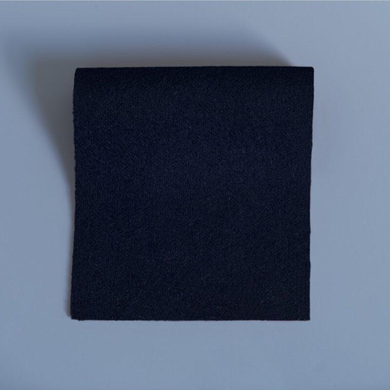 Lightweight melton navy blue
