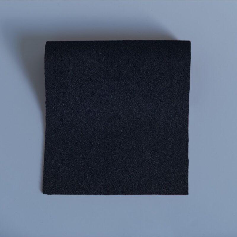 Overcoating melton black