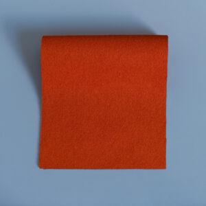 Vivid Hue Fine Baize Vintage Orange