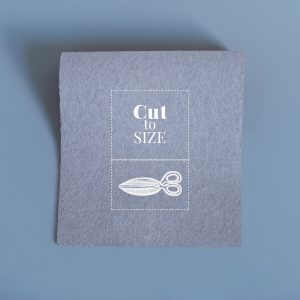 Baize Cut to Order – Pewter Grey