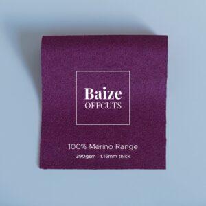 Baize Offcuts – Grape