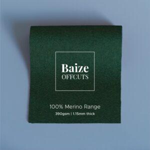 Baize Offcuts – Moss Green
