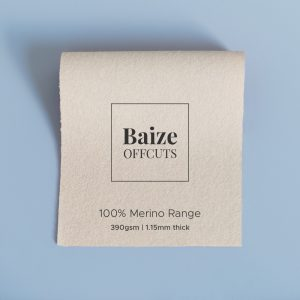 Baize Offcuts – Oatmeal