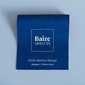 Baize Offcuts – Peacock Blue