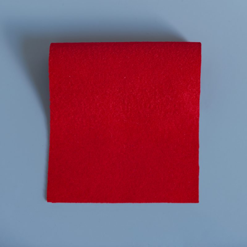 baize offcuts remnants uniform red