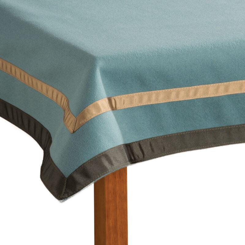Penhallows Merino Wool Tablecloth corner