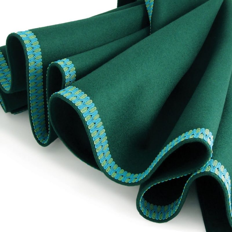connoisseur turquoise green trim