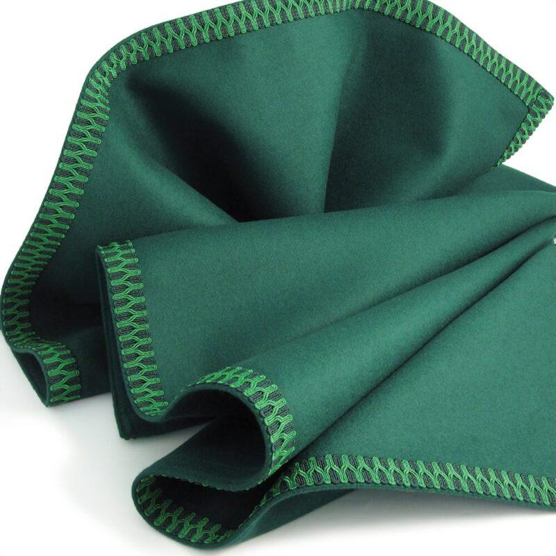 green modern interiors cloth close up