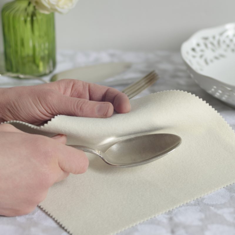 eco-friendly polishing cloth for handpolishing metal