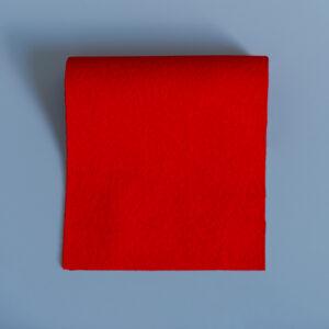 Vivid Hue Fine Baize Bright Scarlet